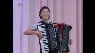 """[Accordion Ens.] """"General and Children"""" (Kumsong school) {DPRK Music}"""