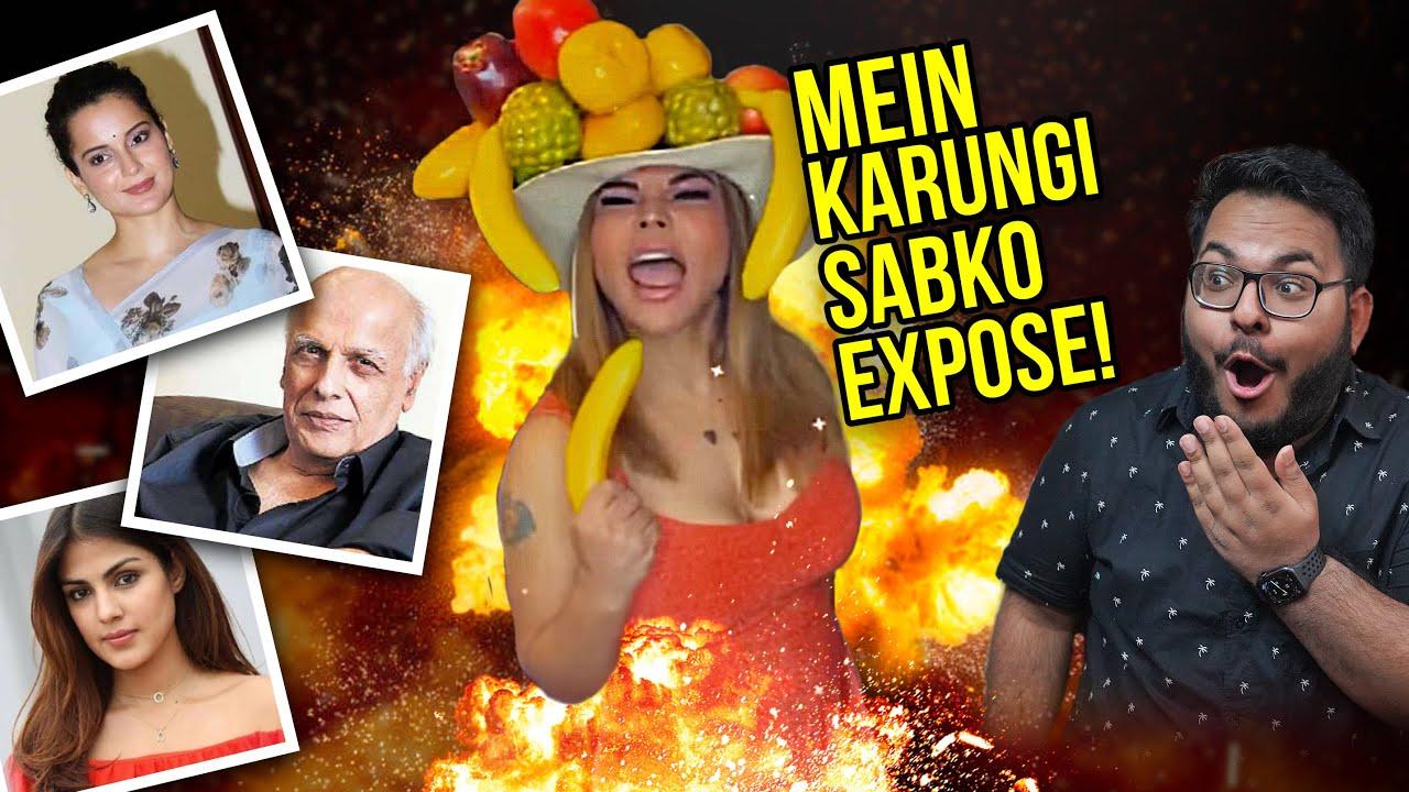 SAKHI RAWANT IS NOW EXPOSING BOLLYWOOD!?   Shivam Trivedi