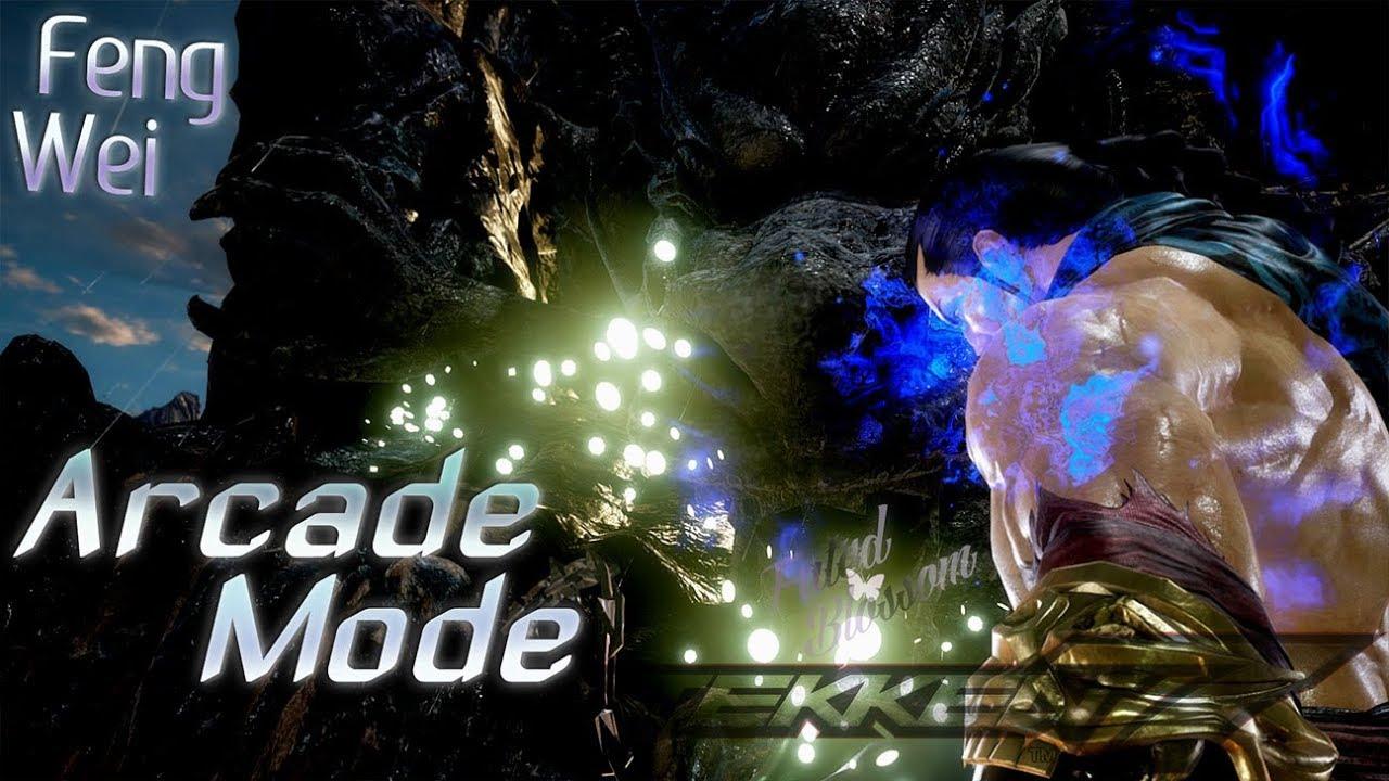 Tekken 7: Arcade Mode - Feng Wei