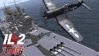 IL-2 1946: Corsair and Hellcat Carrier Defense (Multiplayer Mission)