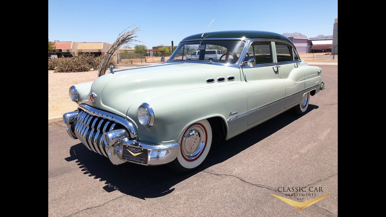 1950 Buick Super Sedan Amazing All Original Survivor Only 25k Org Miles