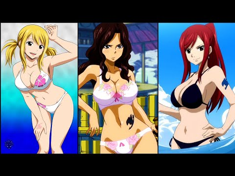 Top 10 Sexiest Fairy Tail Girls