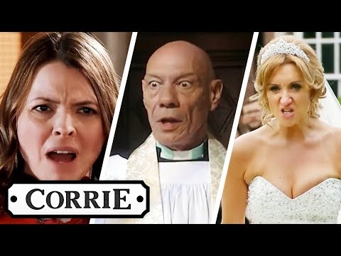 Most Shocking Wedding Disasters | Coronation Street