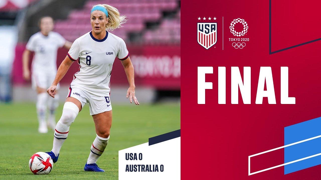 2020 Tokyo Olympics: USA 0 vs. Australia 0 - Match Report, Stats ...
