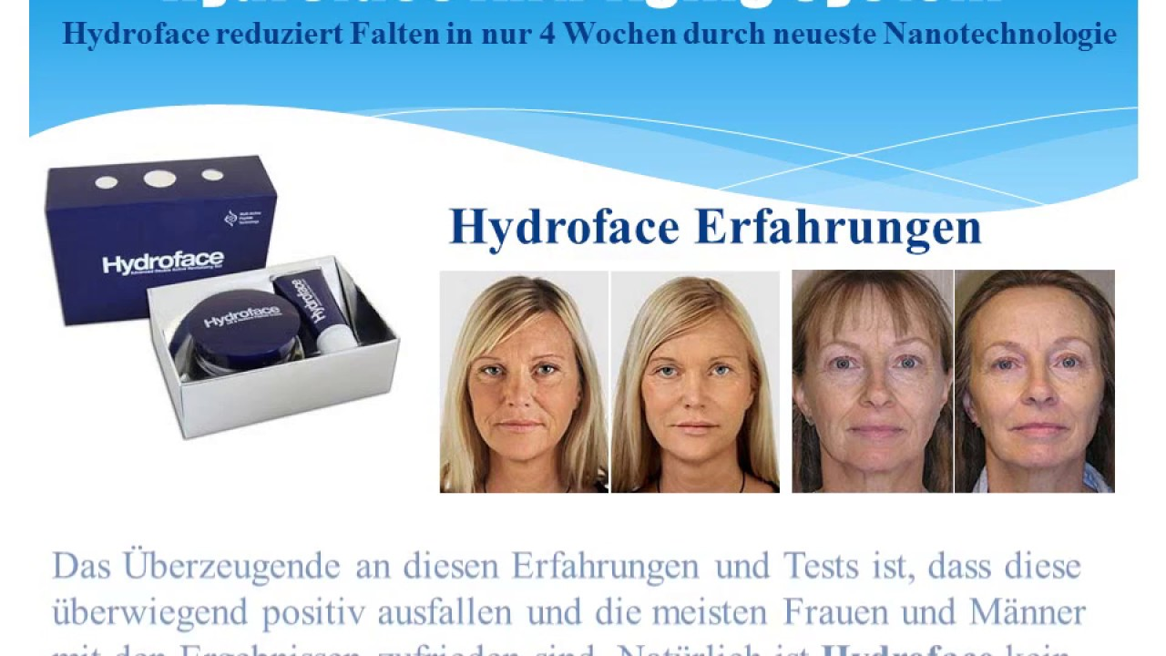 hydroface intensive eye contour cream anwendung