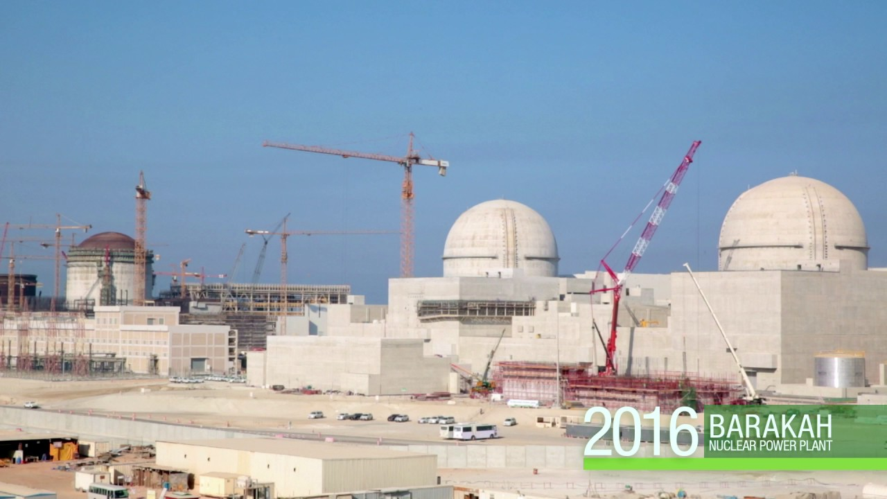 Image result for The Barakah Nuclear Power Plant, UAE