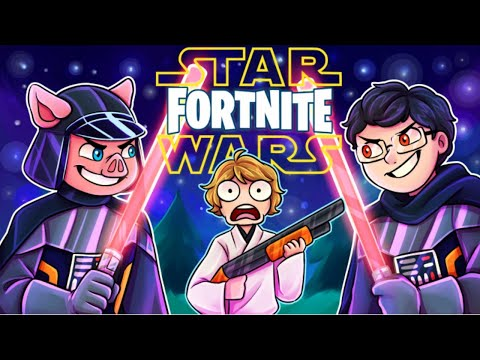 They Added LIGHTSABERS To FORTNITE! (FORTNITE X STAR WARS EVENT) *Exclusive Movie Scene*