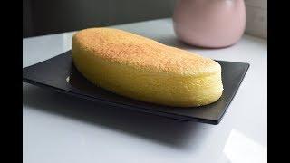 Cách làm bánh bông lan phô mai   Japanese cheesecake cotton cake
