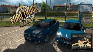 Euro Truck Simulator 2 Multiplayer - DES VOITURES SUR LE MULTI !? PC HD FR