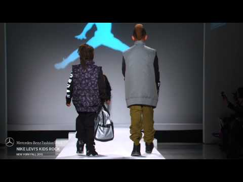 NIKE LEVI'S KIDS ROCK MERCEDES-BENZ FASHION WEEK FW 2015 COLLECTIONS