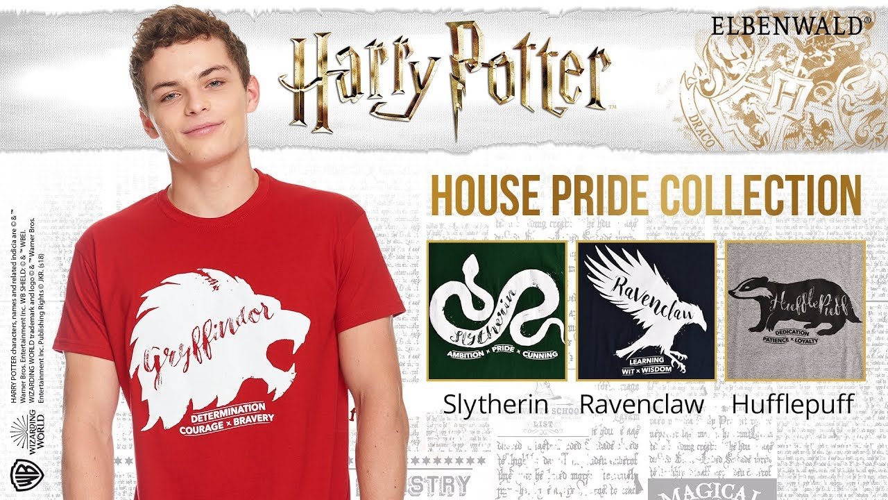 Die Harry Potter House Pride Collection T Shirts