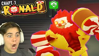 ESCAPE ROBLOX RONALD the EVIL MCDONALD CLOWN PC Game with HobbyGaming