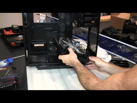 CORSAIR 600T Water Cooled Gaming Rig - Part 2 - Modding the 600T Case