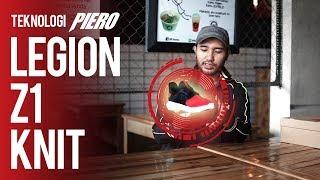 PIERO LEGION Z1 KNIT - BLACK-GREY-RED