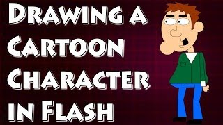 Adobe Flash Tutorial- How to Draw a Cartoon Character