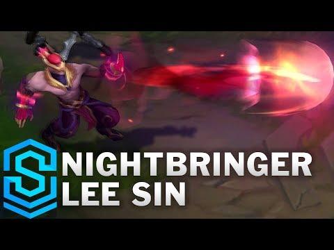Nightbringer Lee Sin Skin Spotlight - Pre-Release - League of Legends