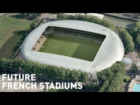 Future French Stadiums / Futurs Stades en France