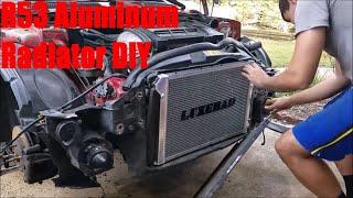 homepage tile video photo for R53 Mini Cooper S eBay Aluminum Radiator Install DIY