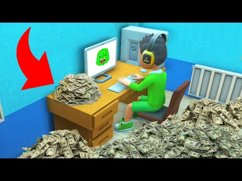 How I Made $10,000,000 On YOUTUBE! (Youtubers Life)