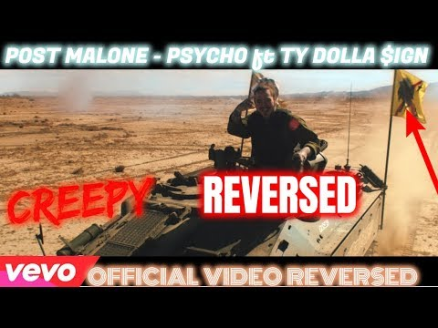 Post Malone - Psycho Ft. Ty Dolla $ign Official Video REVERSED Reaction