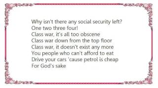 Chicks on Speed - Class War Lyrics