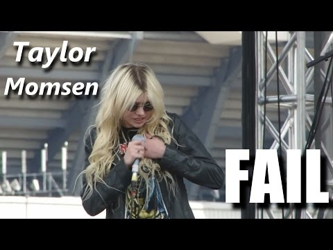 Taylor Momsen FAIL┃RockStar FAIL