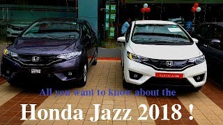 Honda Jazz 2018 | Jazz Facelift Walkaround | New Honda Jazz India | AutoTech India