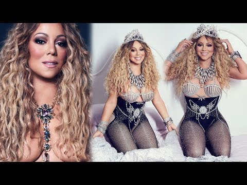 Mariah Carey Poses Topless For Paper Magazine Photoshoot