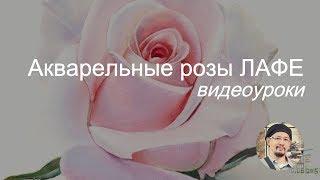 Акварельные розы ЛаФе. Видеоуроки. Приглашение от художника