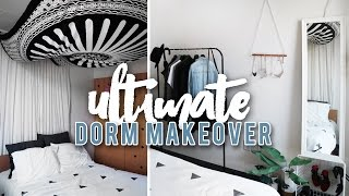 ULTIMATE DORM ROOM MAKEOVER | THE SORRY GIRLS