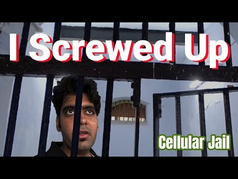 They put me in the Jail | I screwed up big time | Incredible India