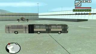 Ikarus 280 Gta san andreas road test