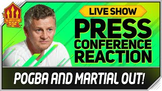 Solskjaer Press Conference Reaction! Manchester United vs Leicester City