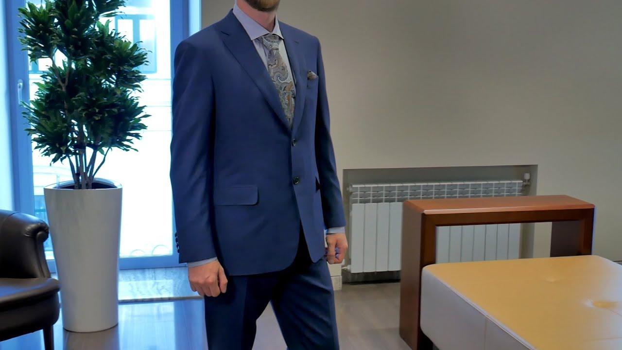 Мужской костюм от Brioni, деликатная шерсть virgin wool, review: ID 163088