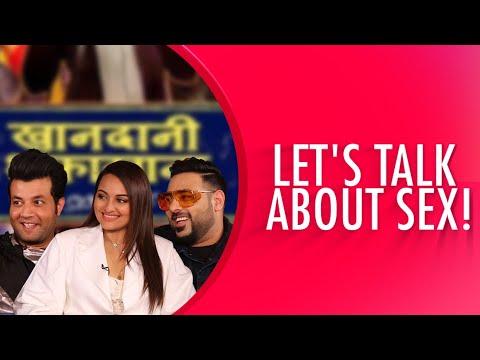 Sex Talk With Sonakshi Sinha, Badshah And Varun Sharma! | Khandaani Shafakhana