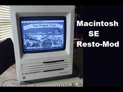 Macintosh SE Resto-Mod & Review - The Obsolete Geek