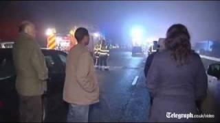 M5 crash kills several and injures dozens near Taunton
