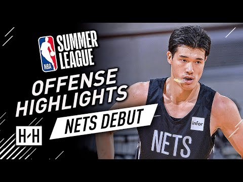 Yuta Watanabe Full Offense & Defense Highlights at 2018 NBA Summer League - Brooklyn Nets Debut!