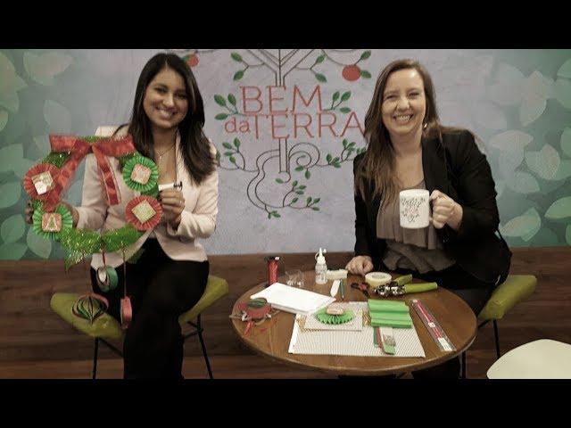 Quer fazer enfeites fáceis em papel pra sua guirlanda ou árvore de Natal?