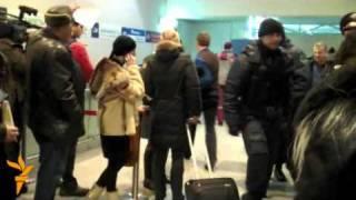 Аэропорт Домодедово после теракта
