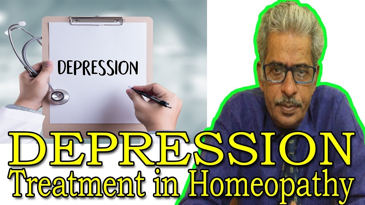 Depression in Hindi - Discussion and Treatment in Homeopathy by Dr P S   Tiwari