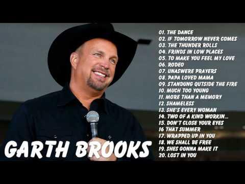 Garth Brooks : Garth Brooks Greatest Hits Full Album Live | Best Songs Of Garth Brooks