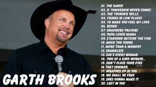 Garth Brooks : Garth Brooks Greatest Hits Full Album Live | Best Songs Of Garth Brooks