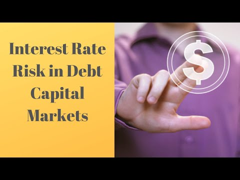 Interest Rate Risk in Debt Capital Markets