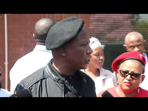CIC Julius Malema Appearance at the HAWKS Office in Pretoria