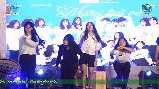 Top Nữ sinh cấp 3, Nhảy Nonstop, Dj hiện đại | Memories Night 20 years THPT Vinh Yen