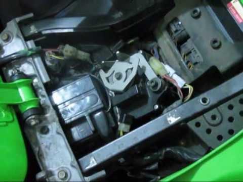 Kawasaki Zx6r Light Fi Servo Buddy Installed Youtube