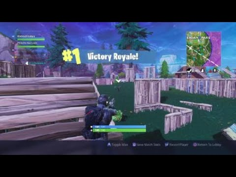 Fortnite 1 Victory Royale With P2 Is The Name Youtube