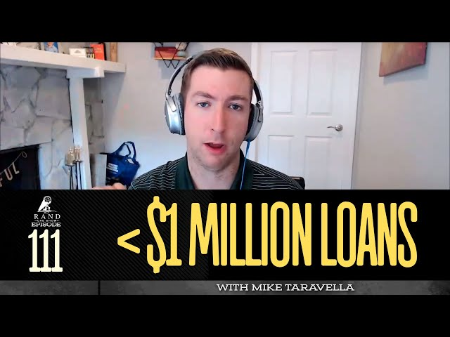 Multifamily Loans Less than One Million with Mike Taravella