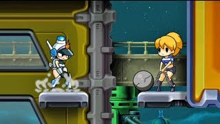 WiiU Gameplay - Mighty Switch Force! Hyper Drive Edition